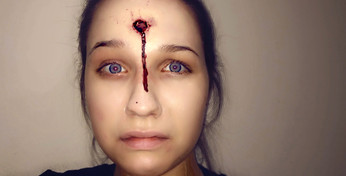 SFX Make Up Rehearsal for Feature Film