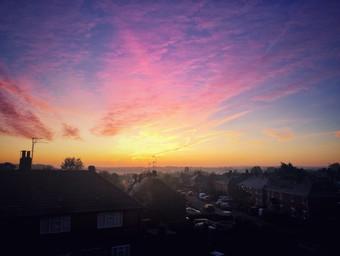 Sunset From My Window 2020