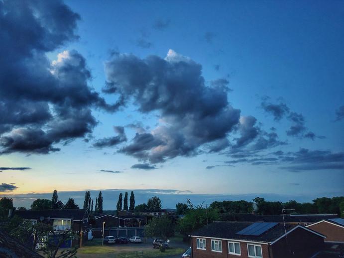 Clouds Making a Statement 2020