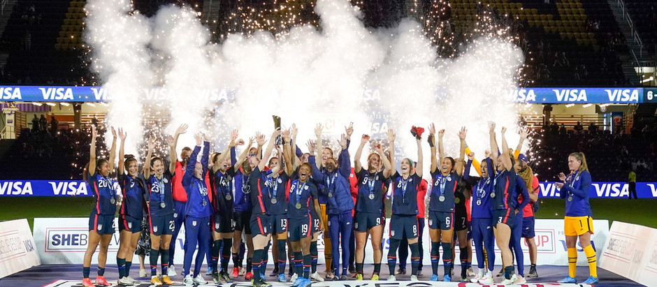 USWNT Wins SheBelieves Cup With Unblemished Record but not a Perfect Performance