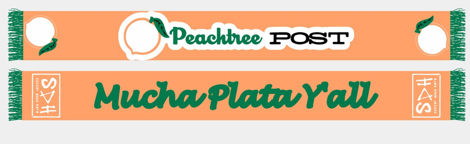 GOING FAST: The Peachtree Post scarf