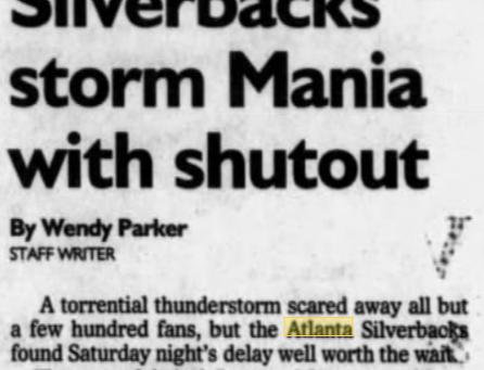 July 24 in Atlanta soccer history