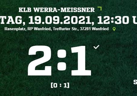 2:1-Sieg gegen den SC Roßbach