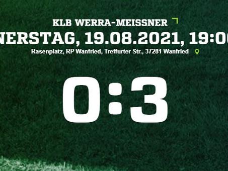 0:3 - Zweite Niederlage in Folge