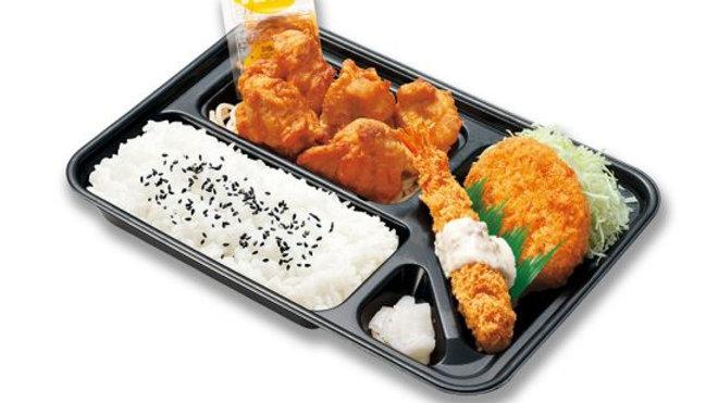 スペシャルカラアゲ弁当(本家かまどや)