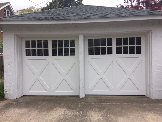 New Custom Carriage Overhead Doors