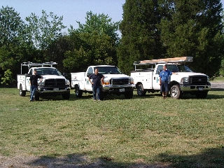 The Hampton Roads, Va branch of Hobbs Door Service is proud to serve Virginia Beach, VA, Chesapeake, VA, Norfolk, VA and Portsmouth, VA. Picture Circa 2007.