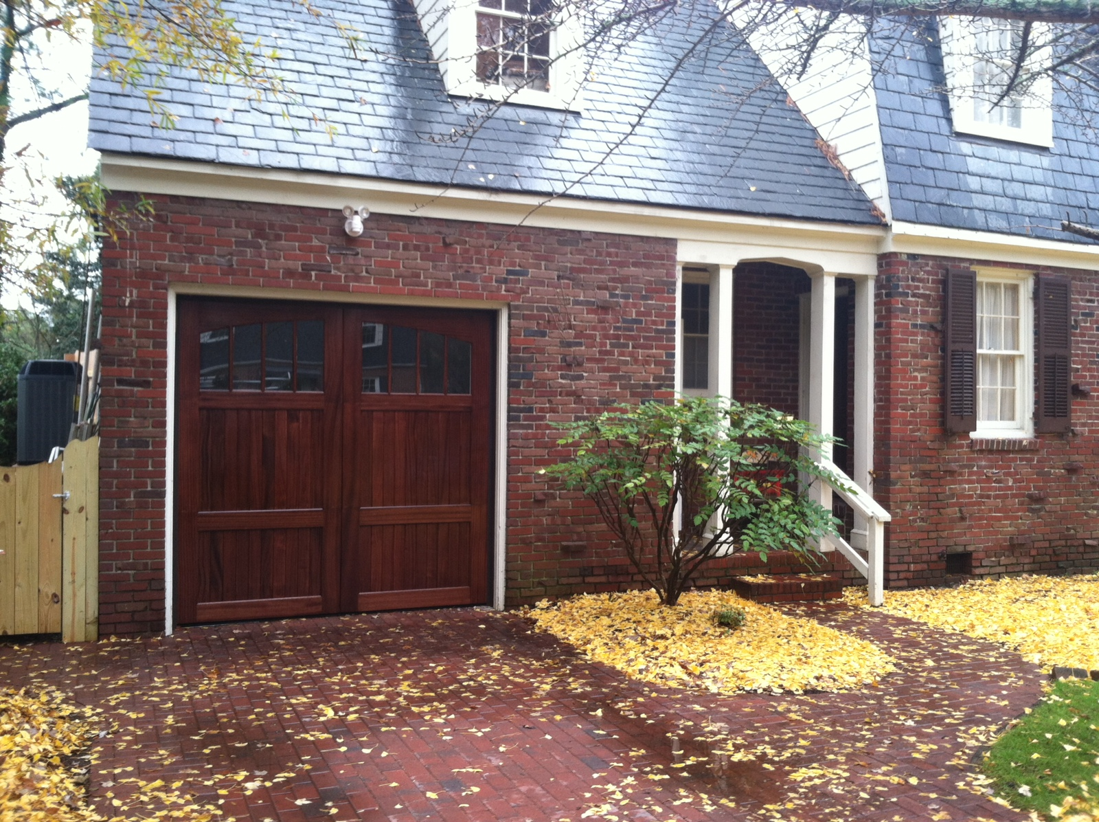 New Cedar Carriage Garage Door
