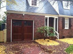 New Cedar Carriage Garage Door