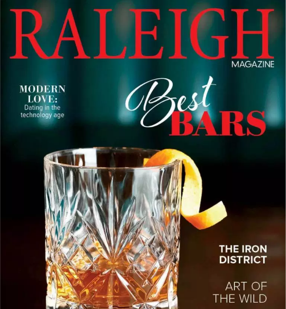 Raleigh Magazine Cover