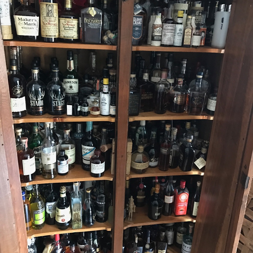 LoRusso Home Cabinet Open
