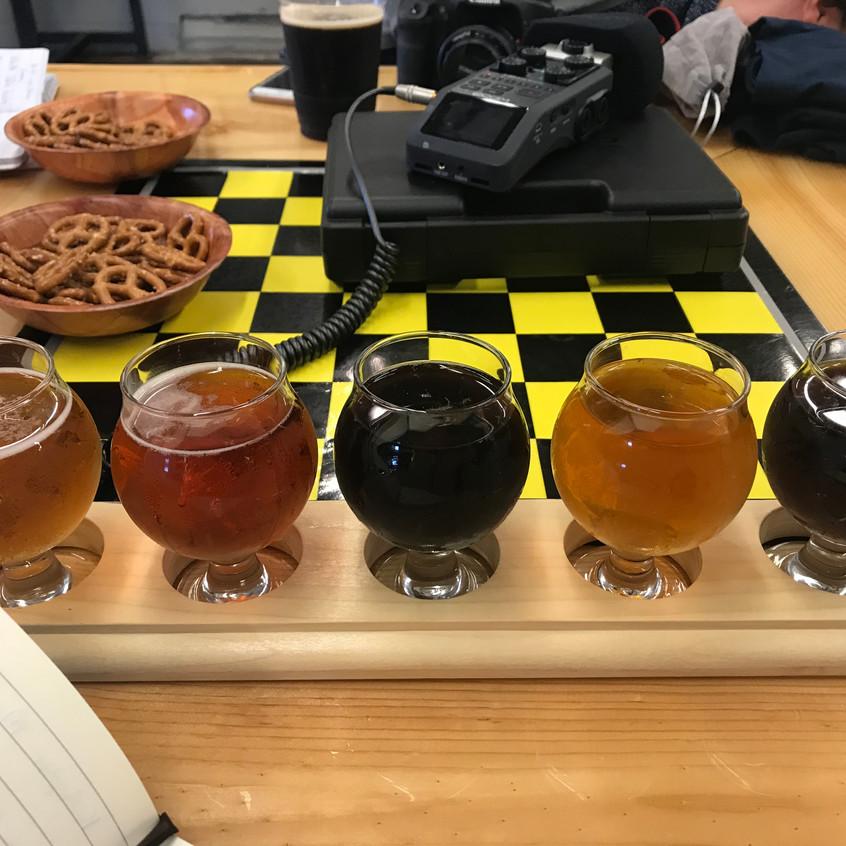 BLBC Flight of Beer