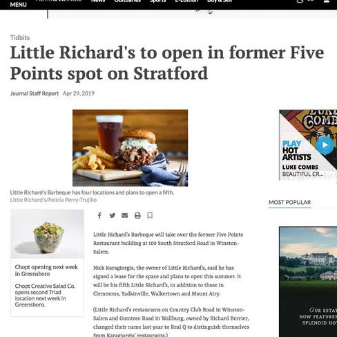 Little Richard's BBQ