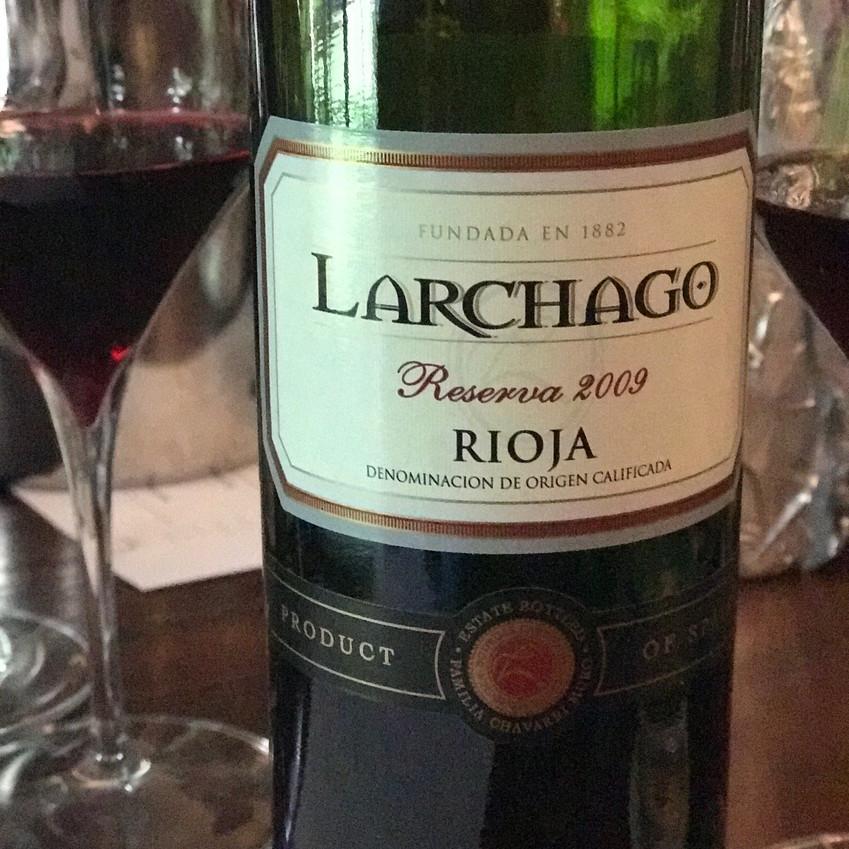 2009 Larchago Reserva Rioja
