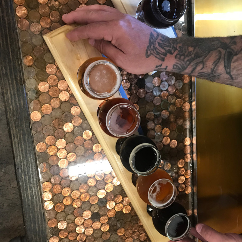 Bright Lights Brewing Company Beer