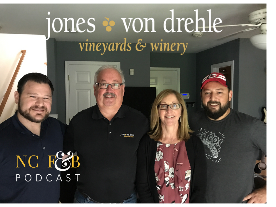 Keeping Up with the Jones Von Drehle Winery