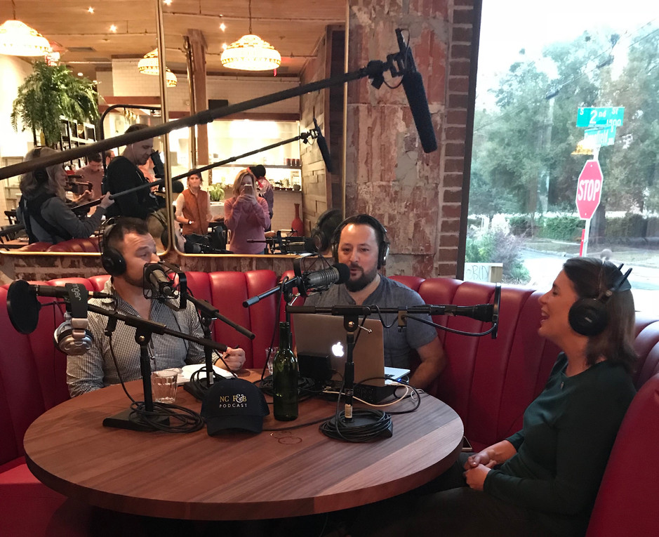 Episode 72 - Benny's Big Time with Vivian Howard & Ben Knight!