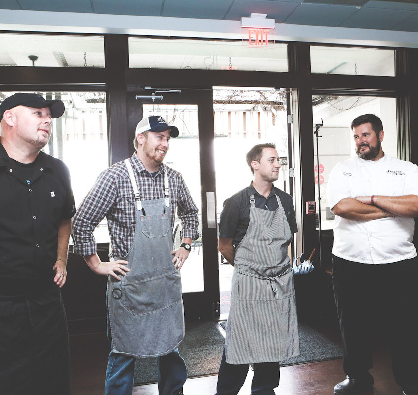The Four Chefs for North Cooks South