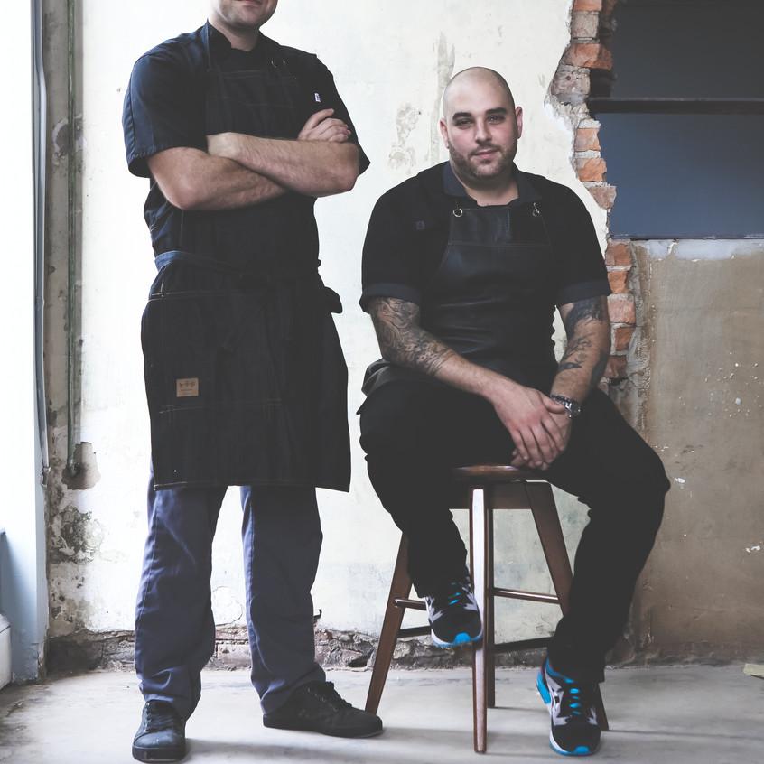 Chefs Jesse Bardyn & Jeff Seizer