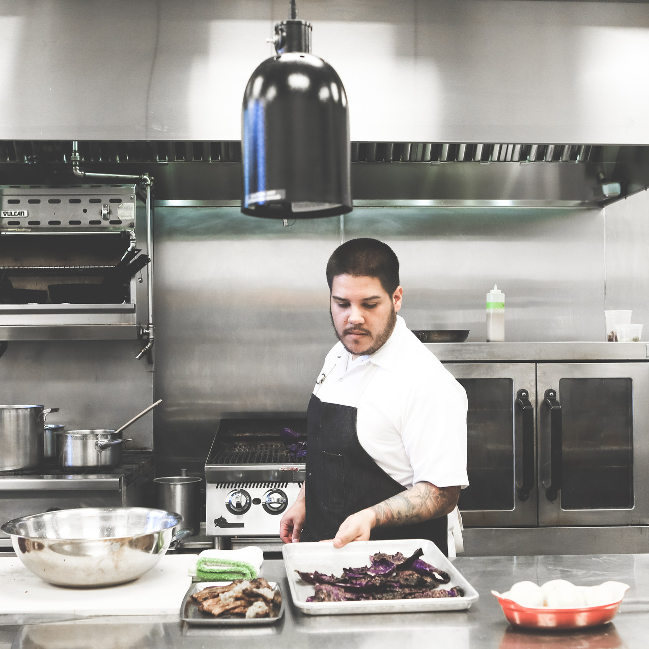 Standard Foods Chef, Eric Montagne