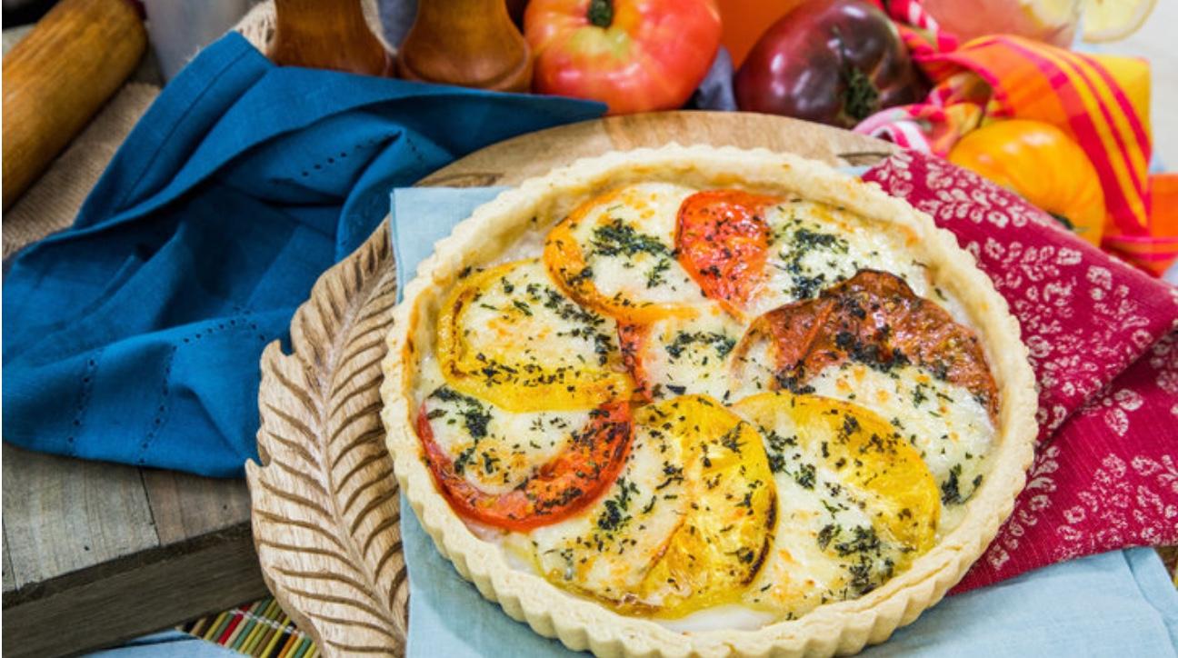 Tomato Herb Pie on Hallmark