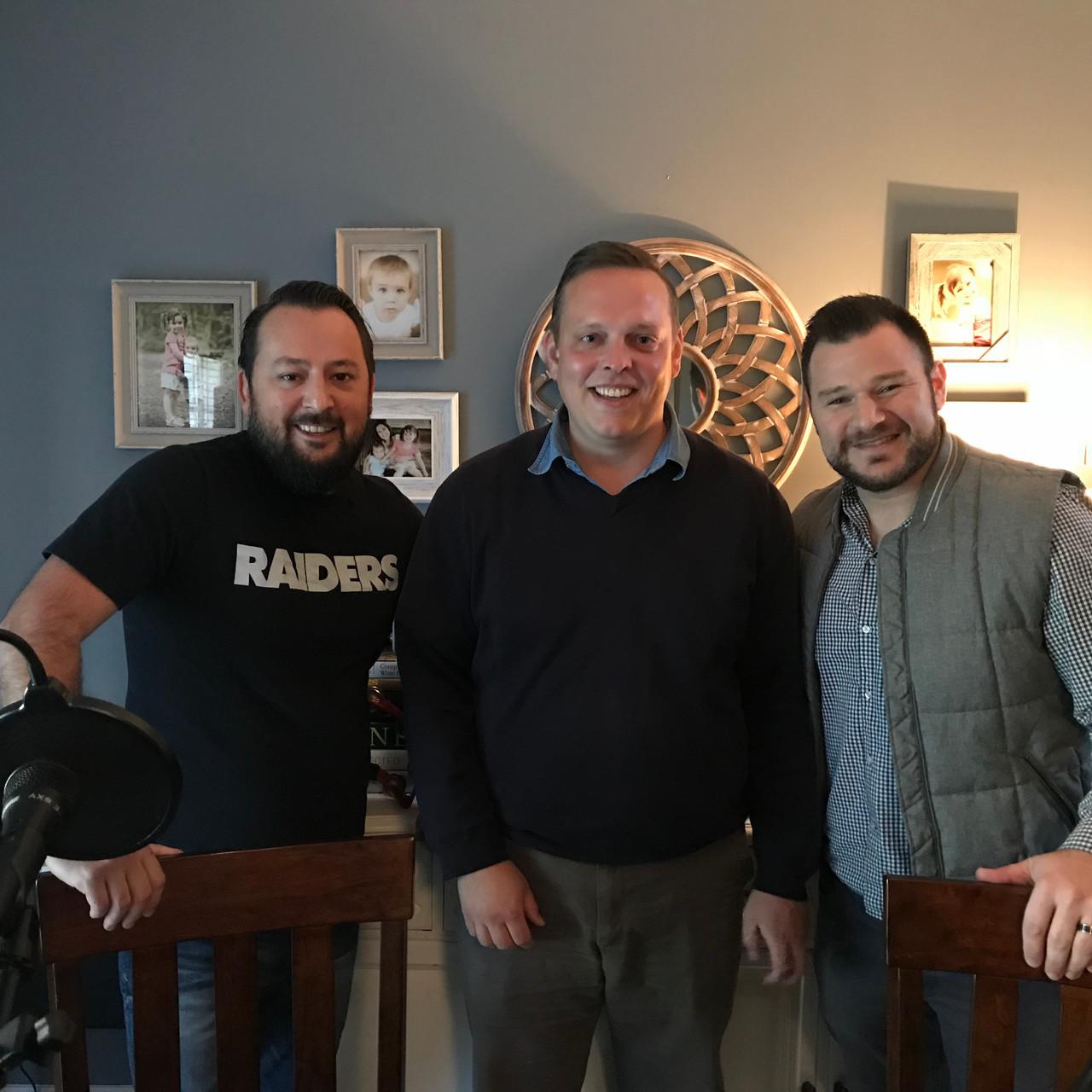 Matt Hallyburton & the NCF&B Podcast