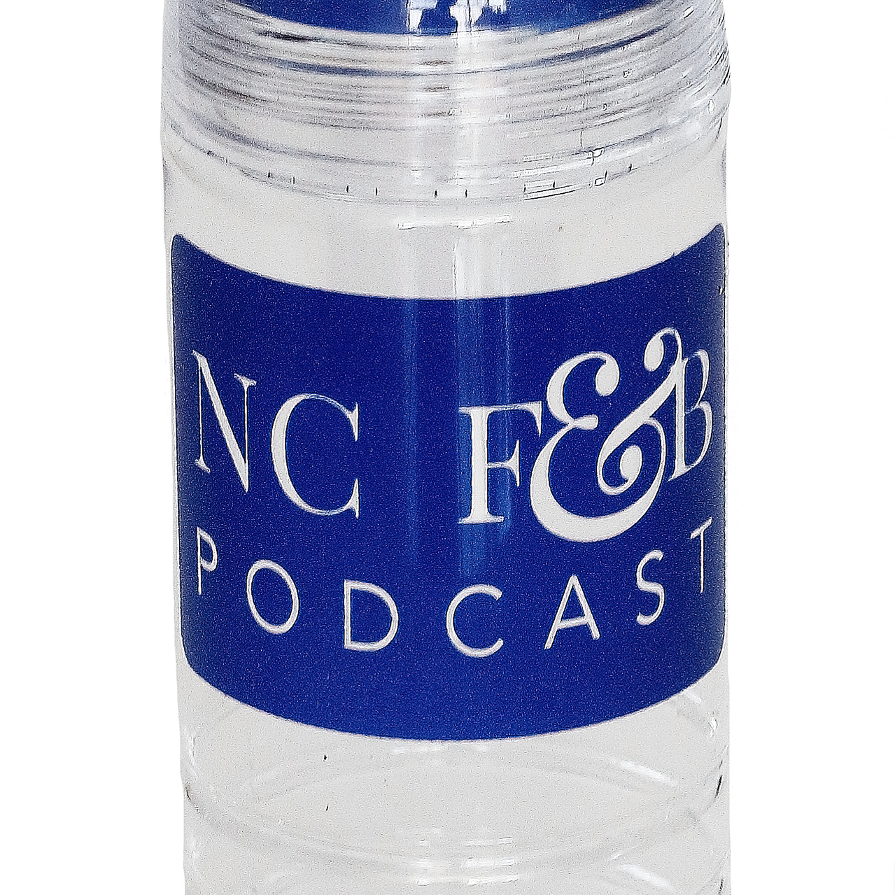 NC FB Podcast Water Bottle