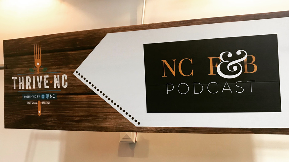 "Episode 96 - How you can be part of the ""food solution"" and Thrive NC. Presented by Blue Cross NC"