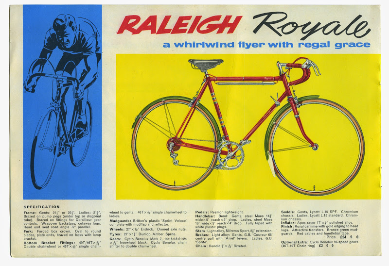 Raleigh Royale Bicycle