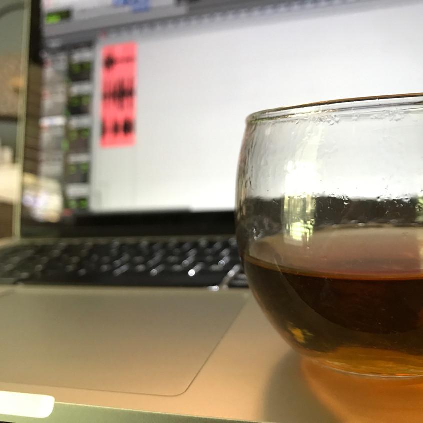 Drinking Tea & Protools