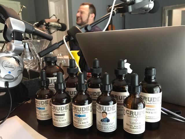 Crude in the Studio