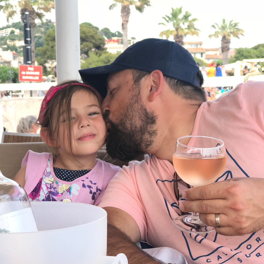Father's Day in Cassis, France