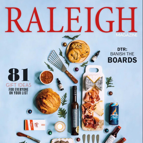 Raleigh Magazine Covers