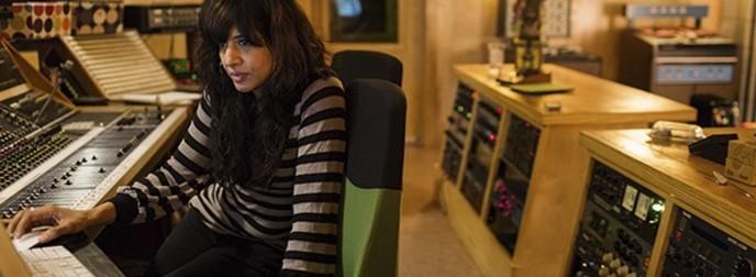 Cheetie in the recording studio