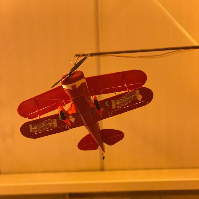 The Flying Pepper Airplane!