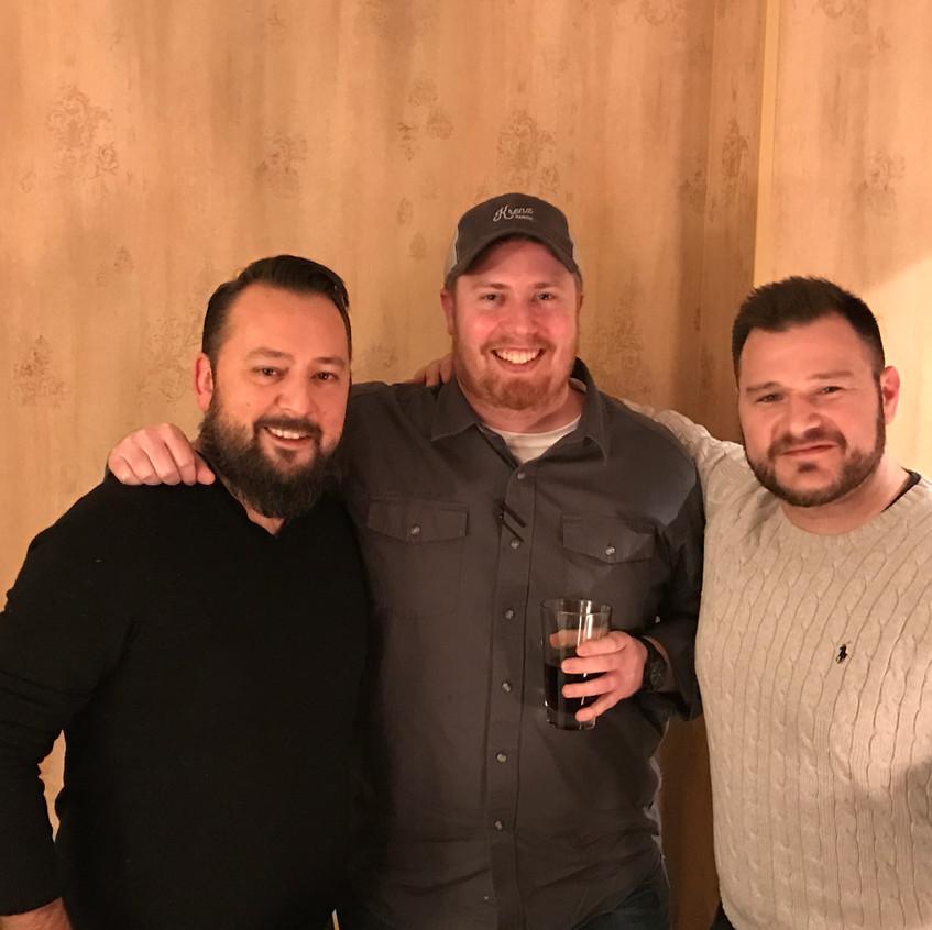 Matthew Krenz with Max & Matt