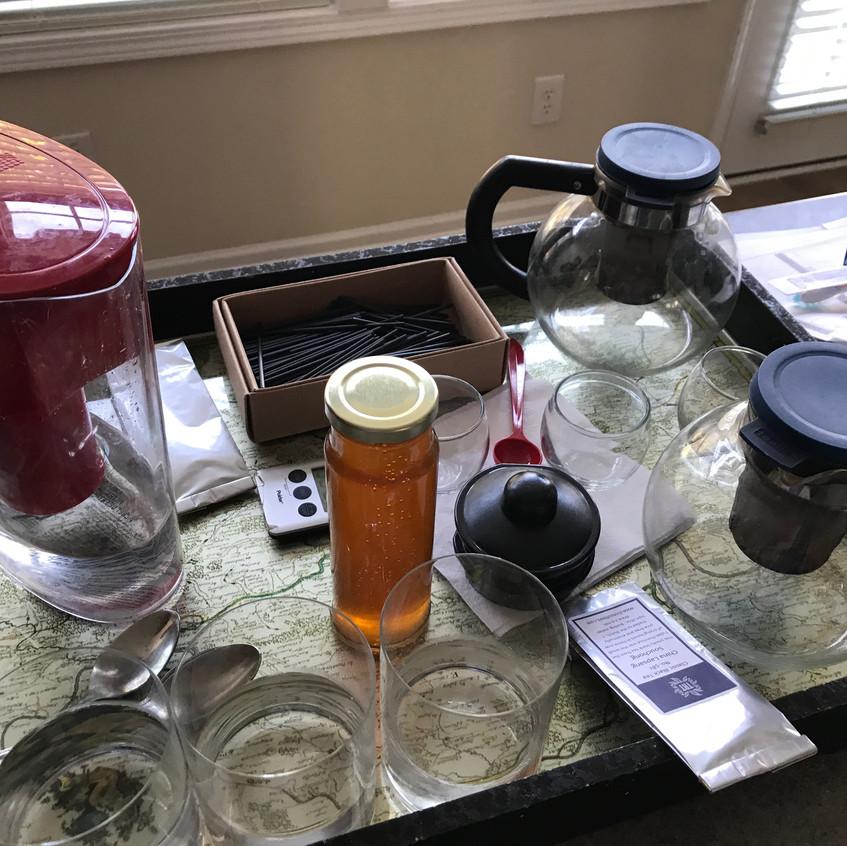 Tea Setup