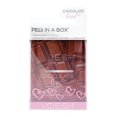 Voesh Chocolate Pedicure in a box.