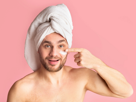 A Note From Women to Men: Get Your Own Skin Care Stuff!