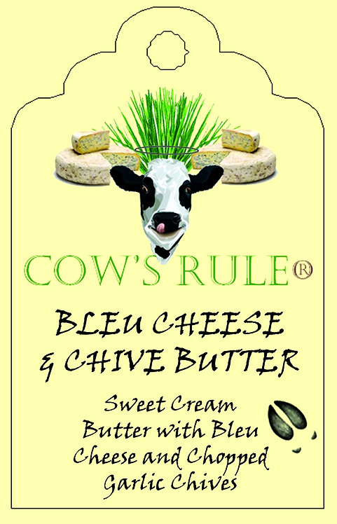 Bleu Cheese & Chive Compound Butter