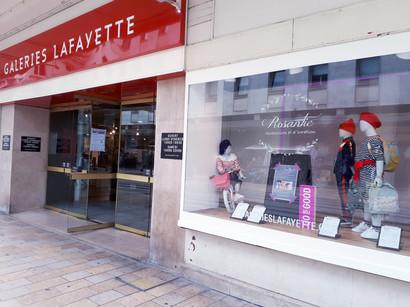 ROSANTIC aux Galeries Lafayette - septembre 2018