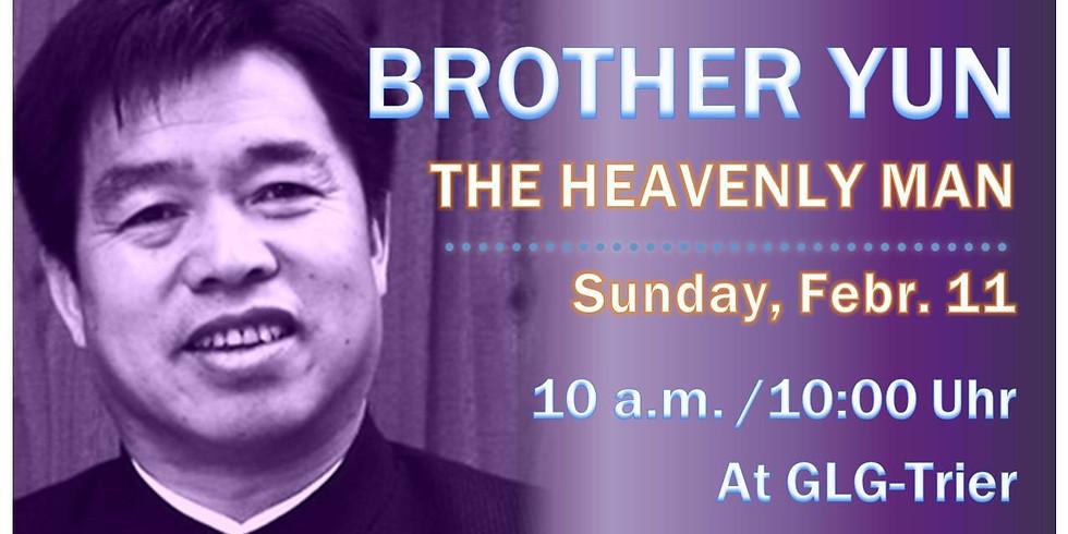 "Bruder Yun (""The heavenly man"") in Trier"