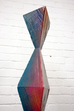 Untitled (column II), 2019 (detail)