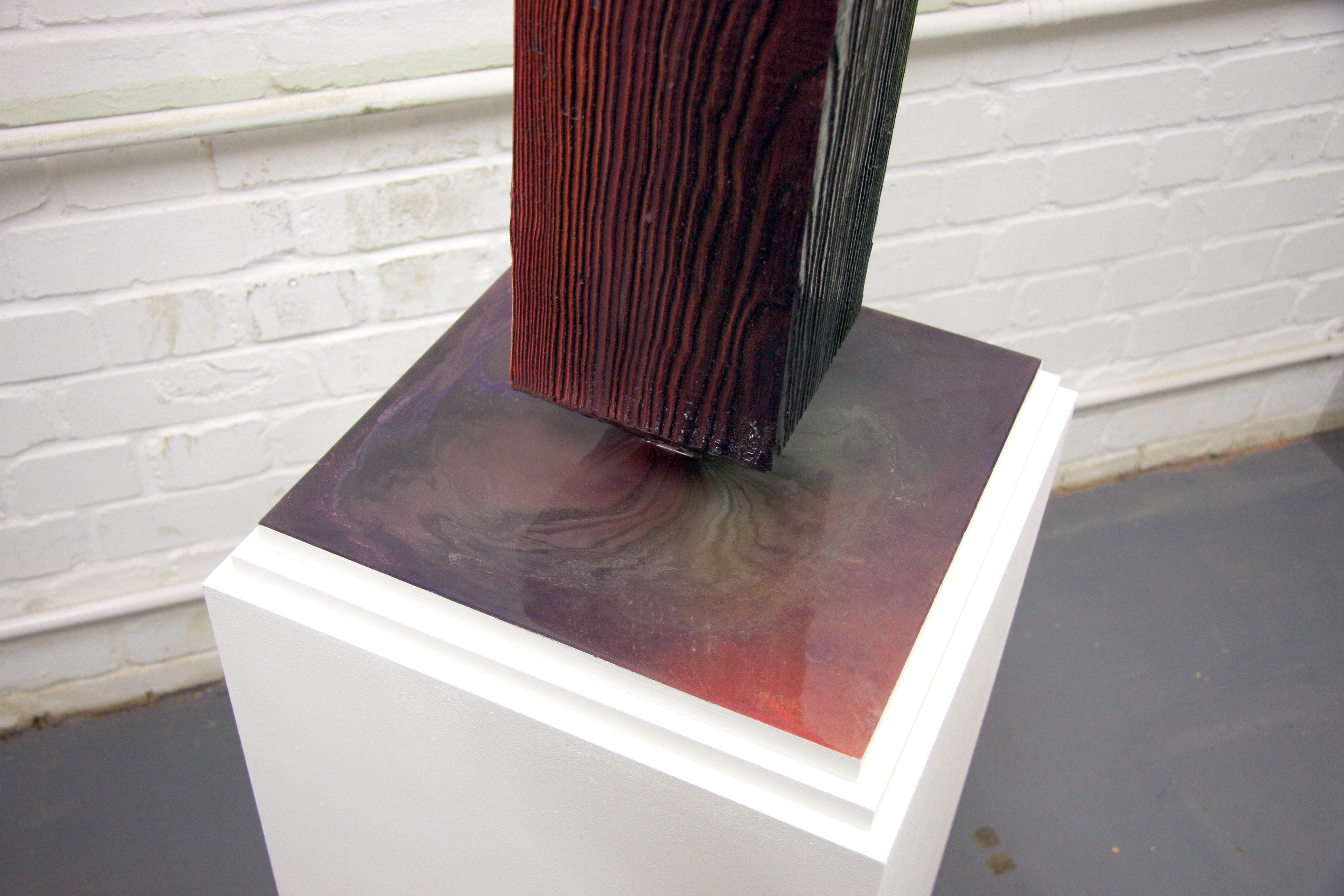 Untitled (obelisk), 2018 (detail)