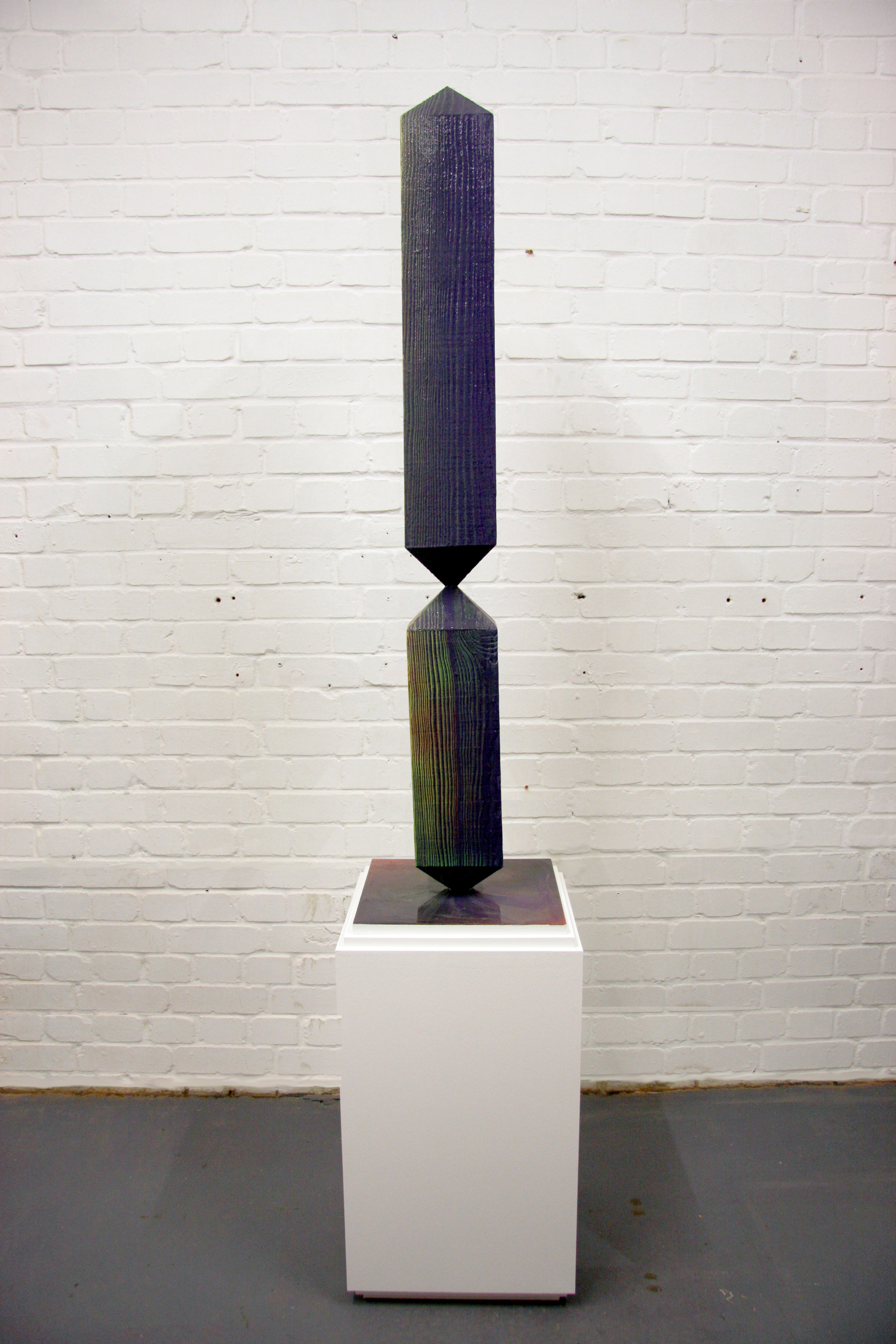 Untitled (obelisk), 2018