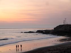 West coast sunset 1020