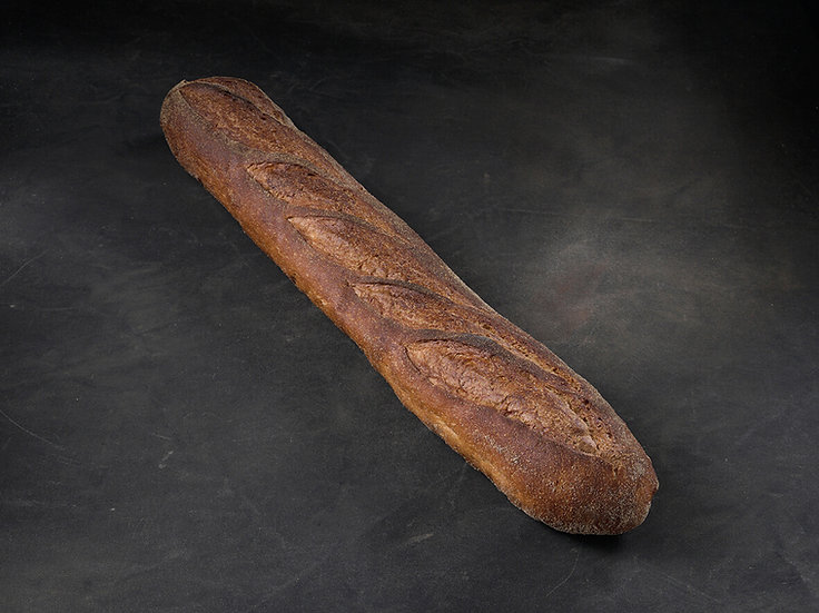SEMI SOURDOUGH WHITE BAGUETTE (550G)