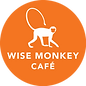 Wise Monkey Cafe Logo White.png