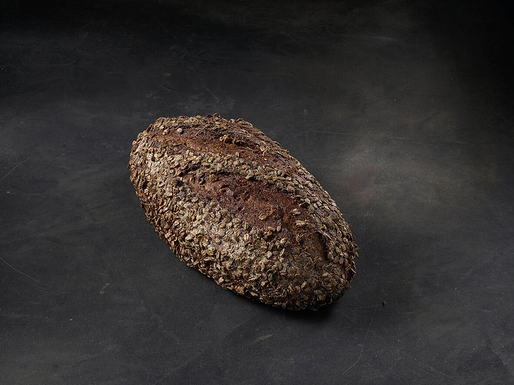 SEMI SOURDOUGH NIGHT RYE BATARD (790G)