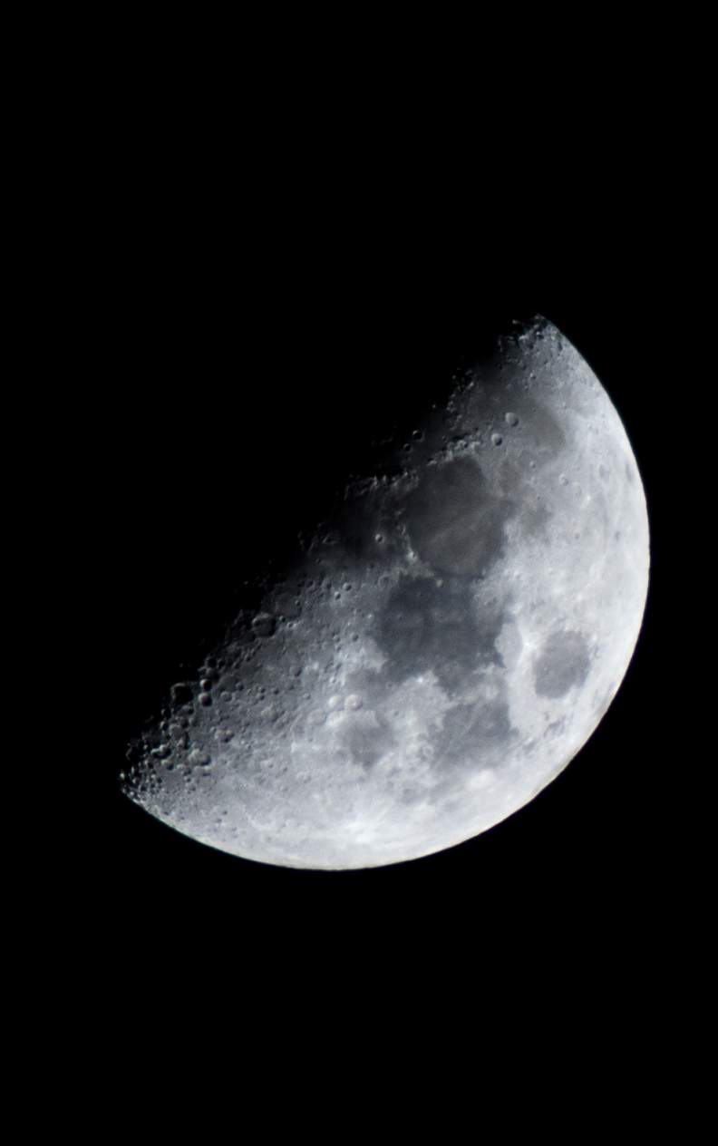 Mond hoch